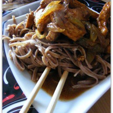 Wieprzowina po chińsku w sosie curry