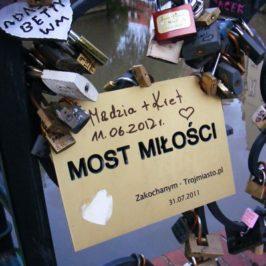 Most miłości w Gdańsku