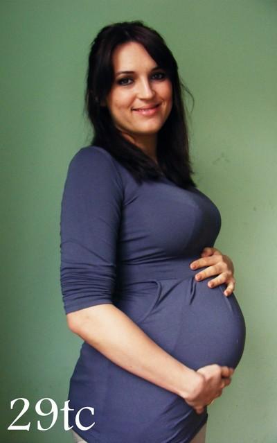 Brzuch w ciąży – 26tc – 30tc