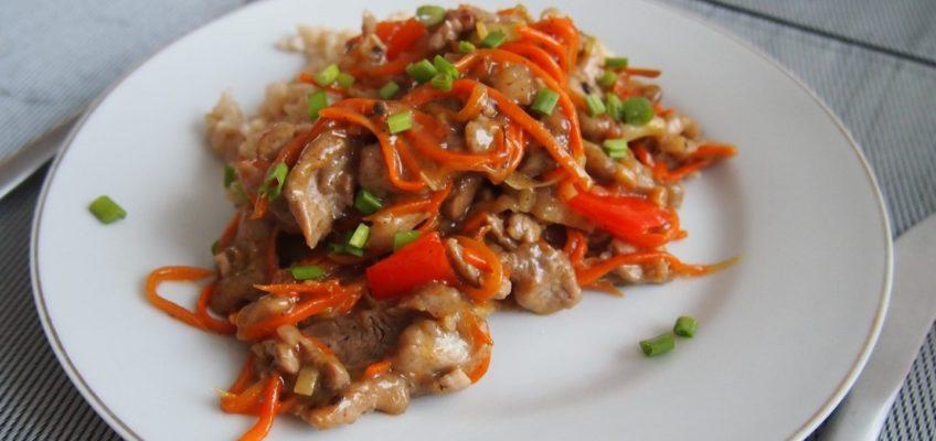 Polędwiczka wieprzowa po chińsku
