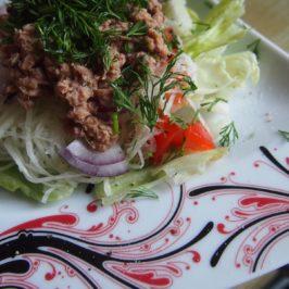 Kalarepa z tuńczykiem