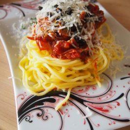 Wściekłe spaghetti – spaghetti arrabiata