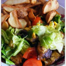 Sałatka z kurczaka z ziemniakami