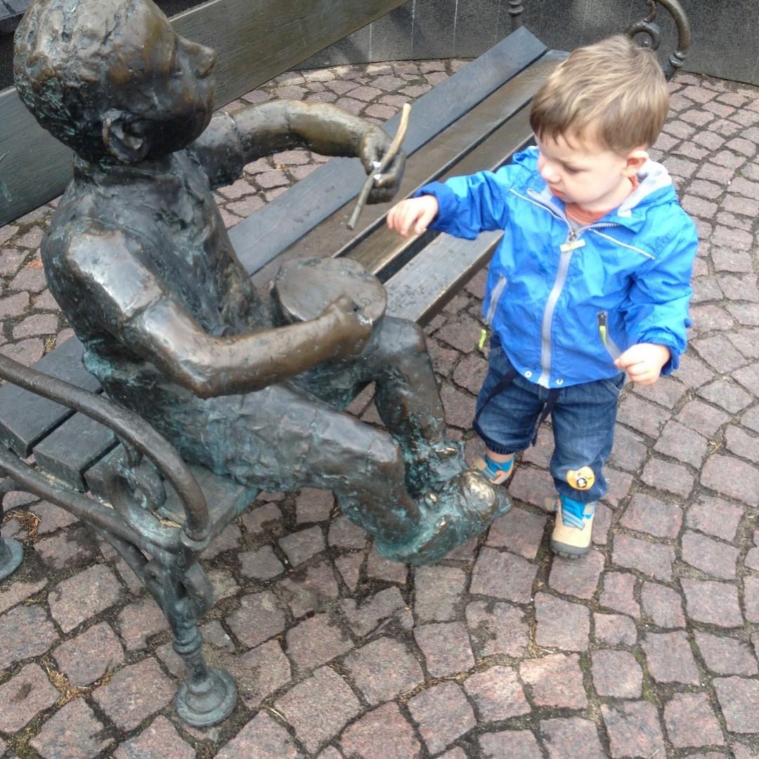 Fontanna na placu gen. Wybickiego w Gdańsku