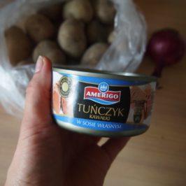 Pieczone ziemniaki z tuńczykiem