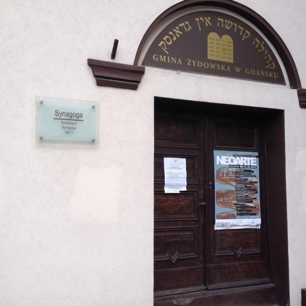 Nowa Synagoga we Wrzeszczu.
