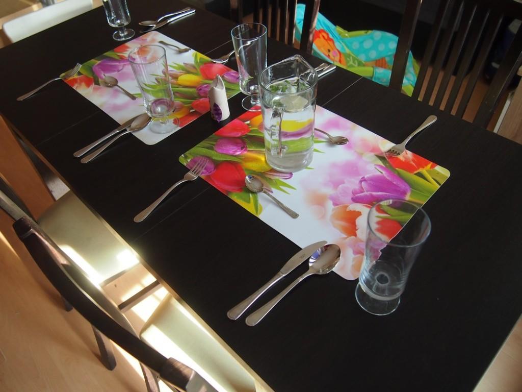 Stół gotowy.