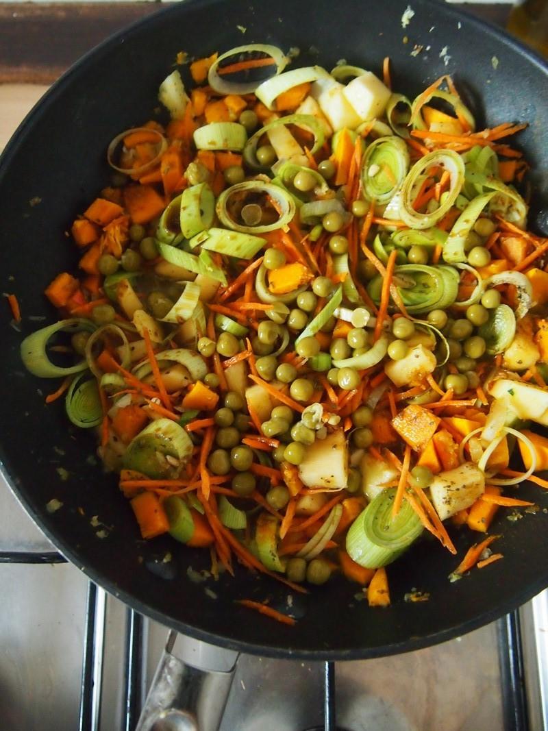 Coś warzywnego – Dynia z pęczakiem