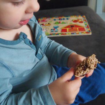 Ciastka owsiano-żurawinowe