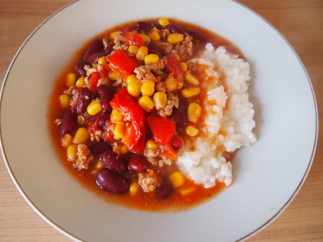 Chili con carne w szybkowarze