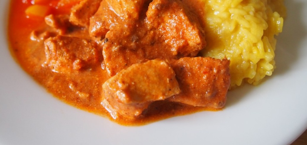 Kurczak tikka masala