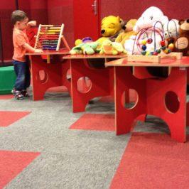 Kącik dla dzieci w Bibliotece Manhattan
