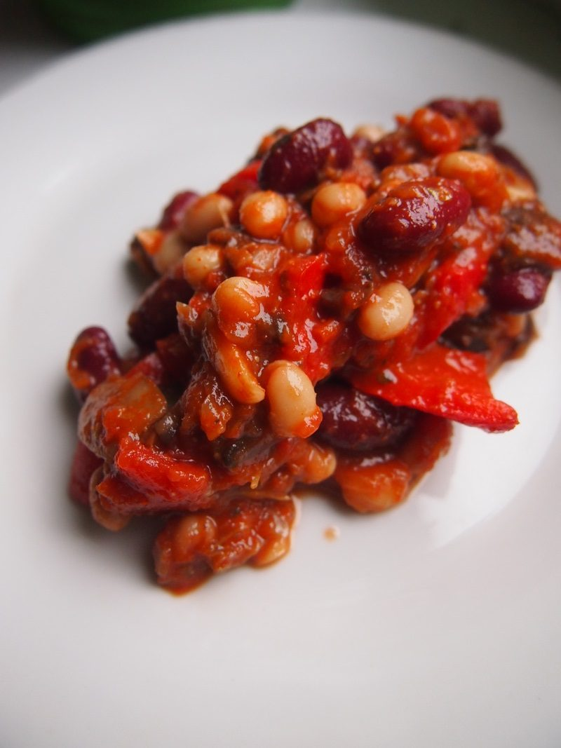 Chili pełne warzyw