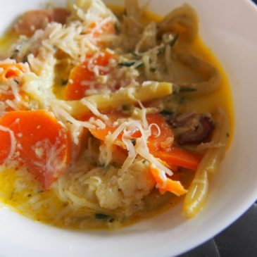 Zupa cheddarowa