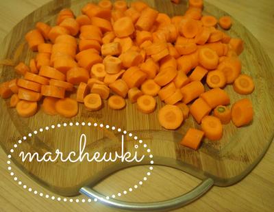 Krem marchewkowo-pomarańczowy