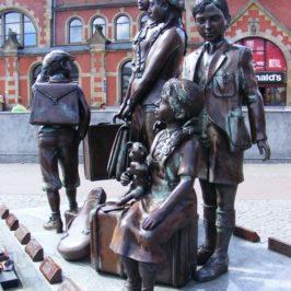 Pomnik Kindertransportów w Gdańsku
