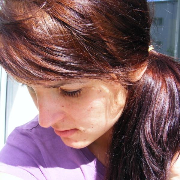włosy po laminowaniu - przód