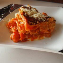 Lasagne z drobiem