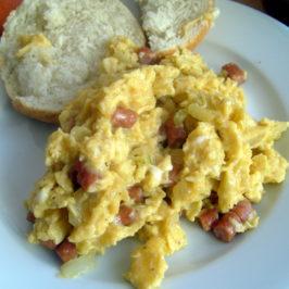 Męska jajecznica