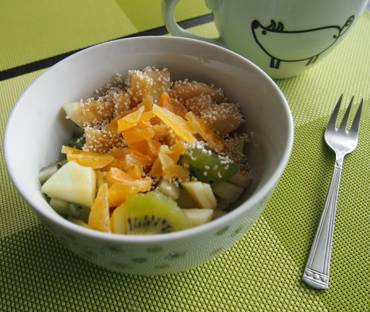 Owoce z amarantusem