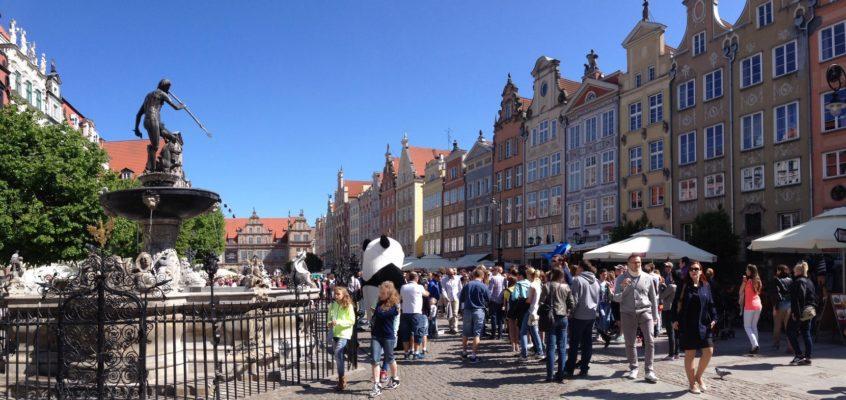 Zbrojownia, Długa, Neptun, odnowiona Wyspa Spichrzów – Gdańsk