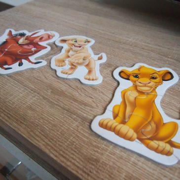Pierwsze puzzle dziecka