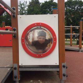 Plac zabaw w Parku Oruńskim