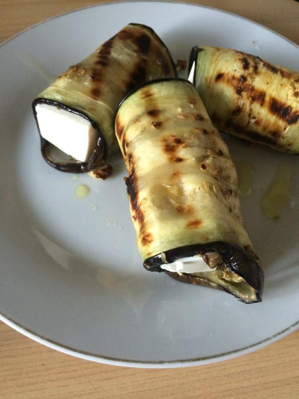Grillowany bakłażan z fetą