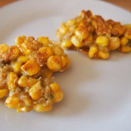 Kotlety ze świeżej kukurydzy