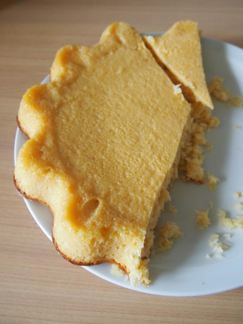Marokańskie ciasto kokosowe